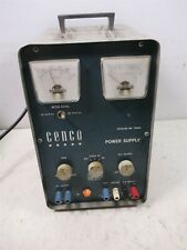 Cenco 79552 Power Supply Central Scientific 150 500 Volt Dc Ac High Voltage Unit