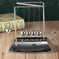 Newton's Cradle Steel Balance Balls Desk Physics Science Pendulum Desk Toy Z-
