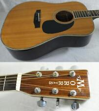 TF MORRIS W-60 Late 70's or Early 80's Vintage Acoustic Guitar Free Shipping