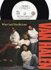 Van Halen ORIG OZ PS 45 Why can't this be love NM '86 Hard Rock metal Warner