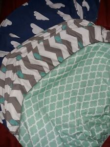 (LOT OF 3) Fitted Bassinet Sheets - 2 Knit - 1 Water Proof - New without tags