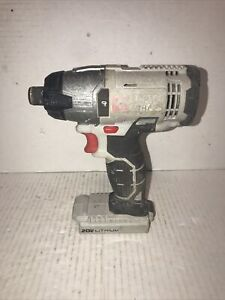 "PORTER CABLE PCC641 20V MAX Li-Ion Cordless 1/4"" Hex Impact Driver Works Great"