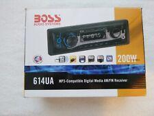 Boss 614UA MP3-Compatible Digital Media AM/FM Receiver 200W 4-Channel