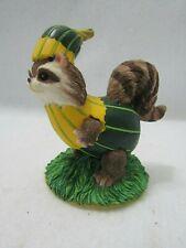 Fitz & Floyd Charming Tails Figurine (Reginald`S Gourd Costume) Raccoon 85701