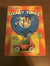 Looney Tunes Road Runner Orange Car Ertl Toy 2704 Die Cast 1989 Factory Error