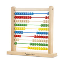 Melissa and Doug Abacus Classic Wooden Toy - NEW!