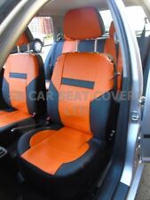 i - TO FIT A TOYOTA PICNIC CAR, S/ COVERS, LEATHERETTE, BLACK / orange 59.99