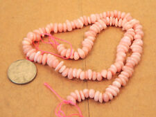 "Pink Andean Opal Beads 15+"" strand (13536)"