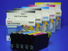 n 5 CARTUCCE COMPATIBILI ISO 9001 STAMPANTE Epson Stylus DX4250