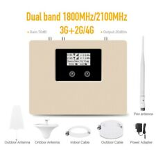 2G 3G 4G 1800/2100MHz Mobile Signal Booster Signal Repeater covearge 500M2
