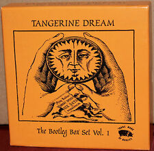 SANCTUARY 7-CD BOX Set CMXBX770: TANGERINE DREAM - Bootleg Box Vol 1 EU 2003 OOP