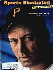 1966 Harry Walker Pittsburgh Pirates Sports Illustrated