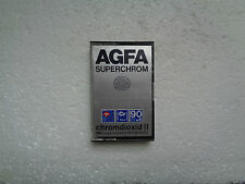 Vintage Audio Cassette AGFA Superchrom 90+6 * Rare From 1979 * Unsealed