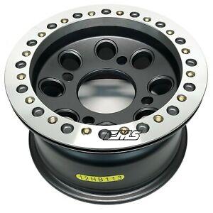 "STI HD Beadlock 12"" ATV Wheel 12HB113 Machined 12x7 Rim Bolt Pattern 4/156 (4+3)"