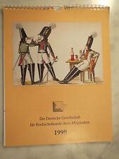 Institut für Hochschulkunde - Couleur-Kalender - 1999 / Studentika