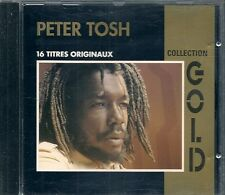 CD COMPIL 16 TITRES--PETER TOSH--COLLECTION GOLD