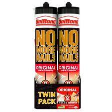 2 x Unibond No More Nails Original Interior 300ml Cartridge - Twin Pack