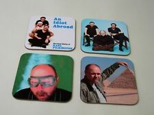 An Idiot Abroad Karl Pilkington COASTER Set