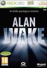 ALAN WAKE GIOCO XBOX 360 NUOVO ITALIANO MICROSOFT XB360