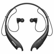 New listing Bluetooth Headphones Mpow Jaws-6 Upgraded Wireless Neckband Headset Retractab.