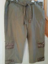 pantalon lege  *** ceinture assorti   M&S MODE °°°°° T 48/50 °°° comme neuf
