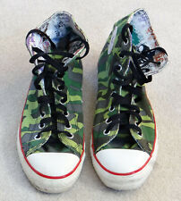 RARE Vintage Converse Gorillaz 2011 Camo Chuck Taylor All-Star Size 9 Trainers