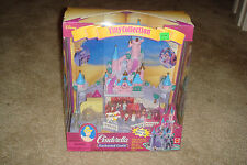 Mattel Cinderella Enchanted Castle Tiny Collection Disney Polly Pocket Playset