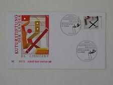 (l308) gioielli federale FDC Michel n. 2308 Fondazione culturale El Lissitzky pittore