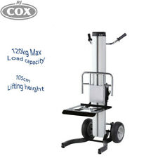Material Lifter ML1 Mast Lift Trolley Mobile Portable Hand Winch Operated Table