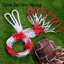 1Pcs Sports Ball Hoop Mesh Net 10 Balls Carry Net Bag for Basketball Football
