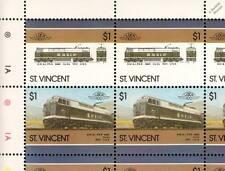 1973 BM&LP GE Class E60 / E60C Electric Train 50-Stamp Sheet / LOCO 100 LOTW