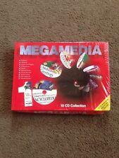 Mega Media - 10 CD Pack - Bodyworks, Key CAD, Infopedia, Project Manager - NEW