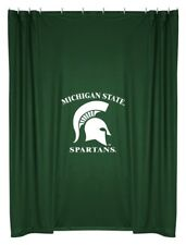NEW Michigan State University Spartans Fabric Shower Curtain