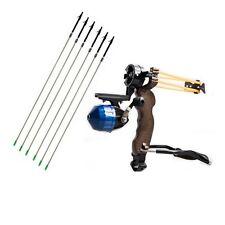 Shooting Fish Slingshot Fishing Catapult Bowfishing Hunting 6pk Carbon Arrows