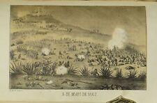 Sol De Mayo J.A. Mateos 1868 Mexico French Intervention Juarez Maximilian Puebla