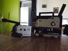 caméra 8 mm avec son projecteur