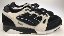Black White Fur Cover BAIT DreamWorks Diadora S8000 Kung Fu Panda Shoes Men's 11