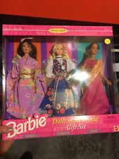 Dolls of The World Barbie gift set-1995-S.E.-Japan -Norway-India