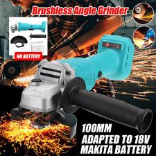 Cordless Angle Grinder Replaces For Makita DGA504Z 18V Li-ion 100mm Brushless A