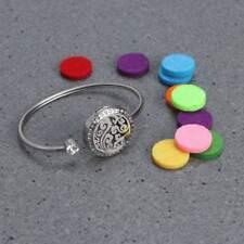 1x Diffuser Locket Aromatherapy Essential Oil Bracelet Delicate Diffuser Jewelry
