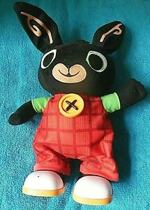 """BING BUNNY 12"""" Interactive Walking Talking Toy FULLY TESTED & WORKING CBeebies"""