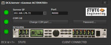 # DCX. Server: Behringer dcx2496 audio DSP con Tablet/Móvil/PC/Mac impuestos #