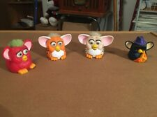 Lot of four McDonald's 1998 Furby promotional toys