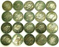 50 RUBLES 1945***SOVIET UNION***WW2***TANKS SERIES ISU BT KV***SET OF 12 PCs