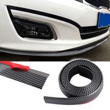 8ft Carbon Fiber Car Front Bumper Lip Splitter Guard Chin Spoiler Wing Body Kit