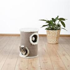 TRIXIE Pet Products 4331 Edorado 2-Story Cat Tower Natural Sisal Padded Platform