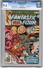 Fantastic Four #172 CGC 9.6 NM+ Off- wht pgs Destroyer App. Galactus cameo