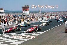 Jacky § & Clay Regazzoni Ferrari 312 B2 Francés Grand Prix 1971 fotografía