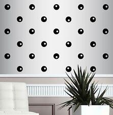 Vinyl Decal Confetti Polka Dots Circles 4x4 Set of 50 Room Wall Sticker 713