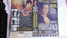 BRUCE LEE VIDEO COVERS NEVER RELEASED 3 OF